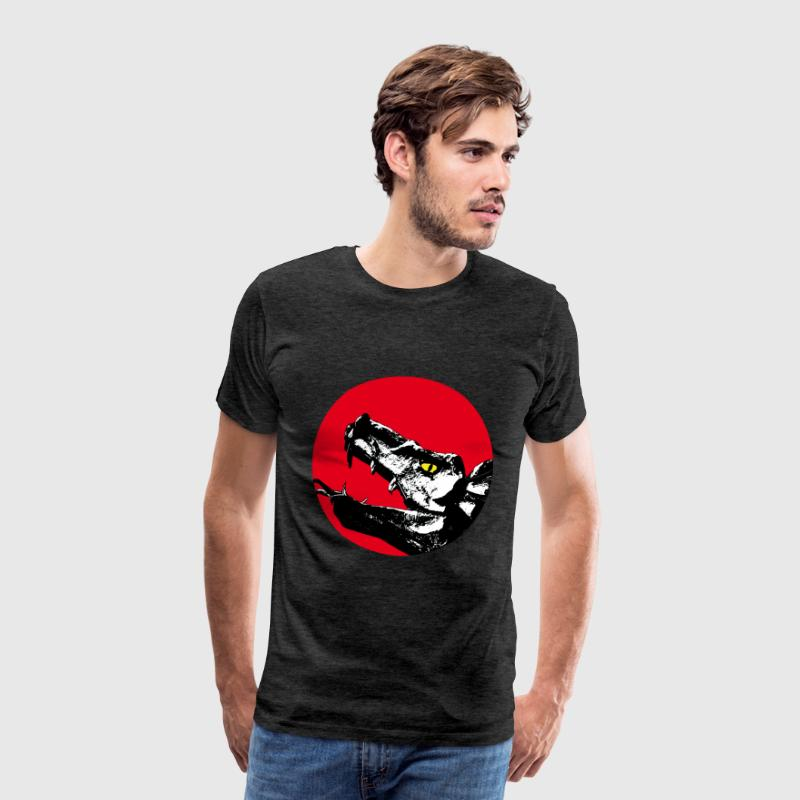 dragon / dragon head T-Shirts - Men's Premium T-Shirt