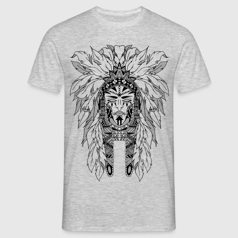 The indian - T-shirt Homme