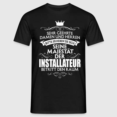 suchbegriff 39 gas wasser installateur 39 t shirts online bestellen spreadshirt. Black Bedroom Furniture Sets. Home Design Ideas