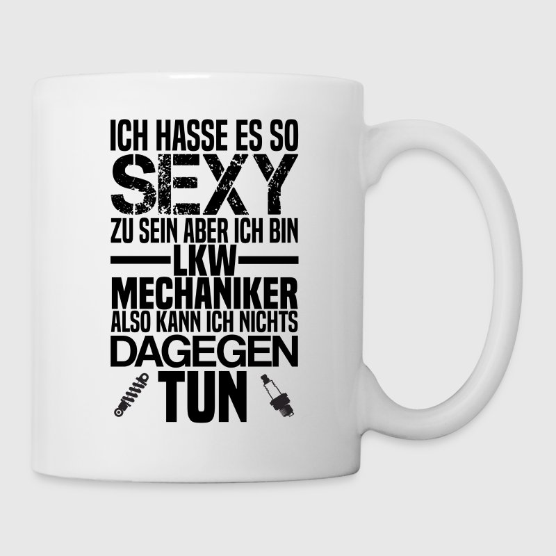Cooles Design für alle LKW-Mechaniker - Tasse