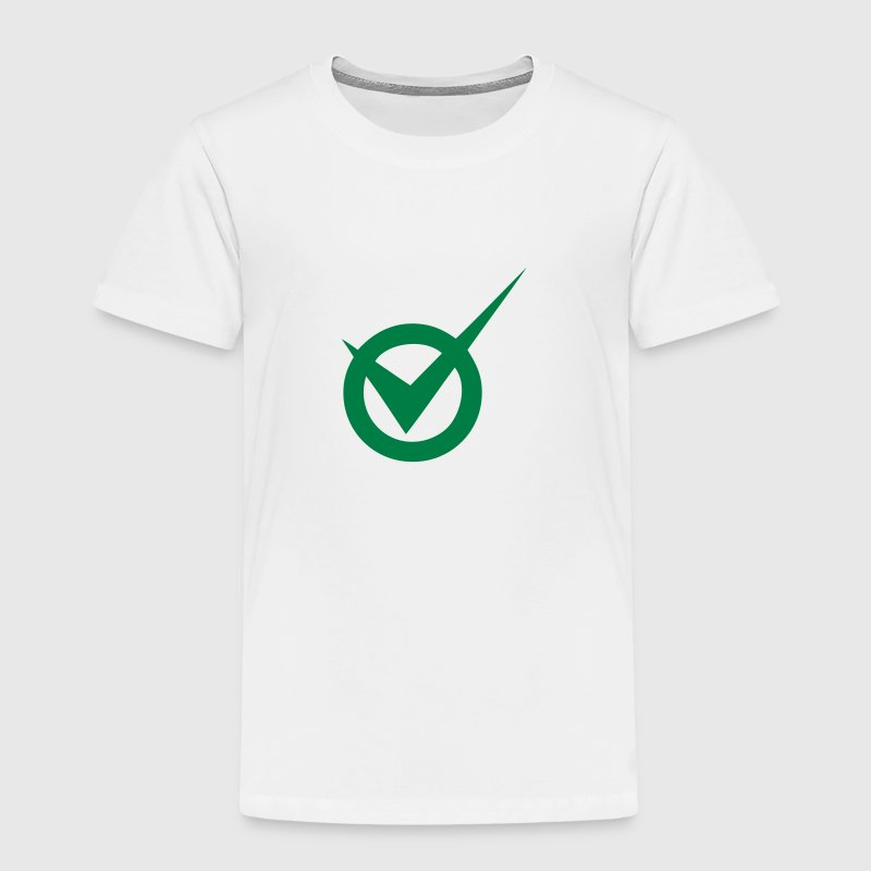 Check box ok valid okay circle Shirts - Kids' Premium T-Shirt