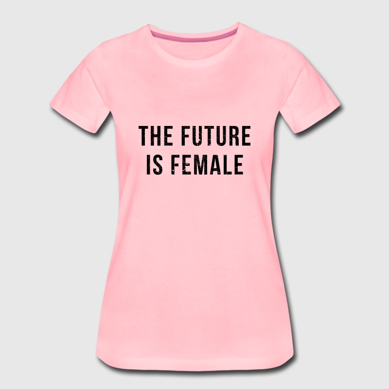 Vintage Look: The Future Is Female T-shirts - Premium-T-shirt dam