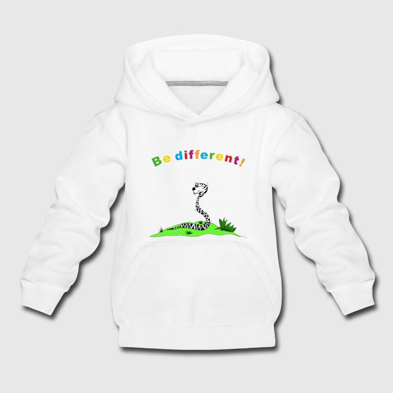 be different Pullover & Hoodies - Kinder Premium Hoodie