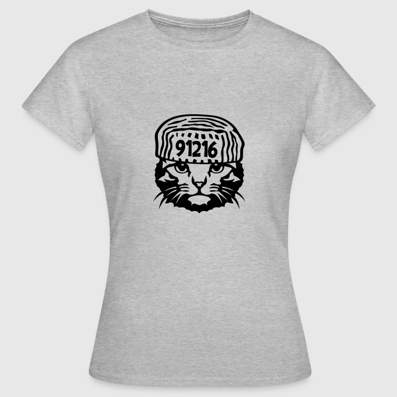chat prisonnier humour Tee shirts - T-shirt Femme