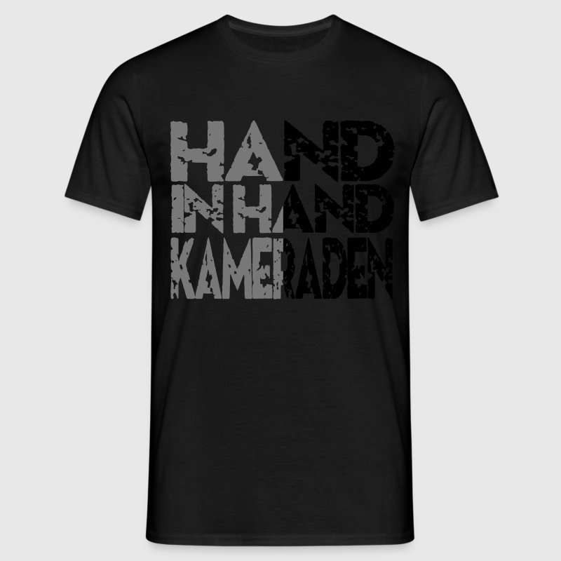 Hand In Hand T-shirts - Mannen T-shirt