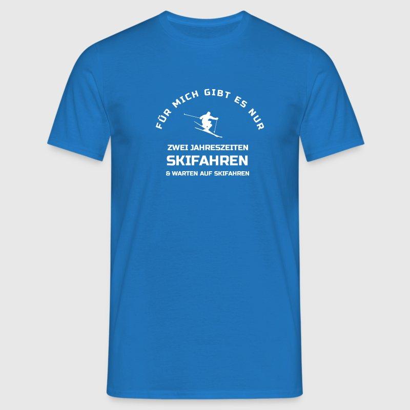 Skifahren Jahreszeiten T-Shirt