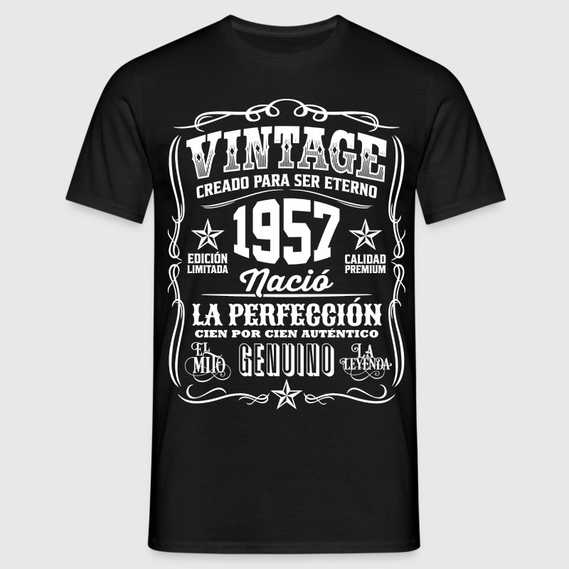 Camiseta 1957-Vintage-Spanish - Spreadshirt