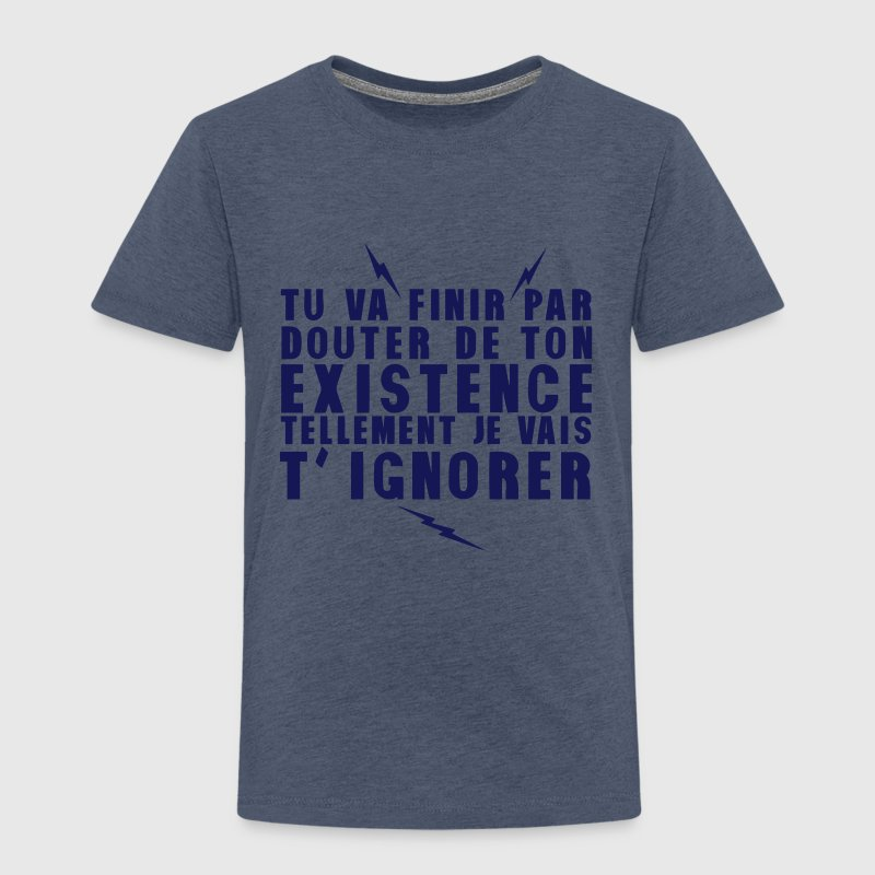douter existence ignorer citation finir Tee shirts - T-shirt Premium Enfant