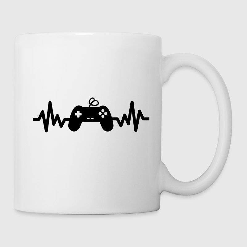 Gaming is life, cadeau geek, gamer, console  - Tasse
