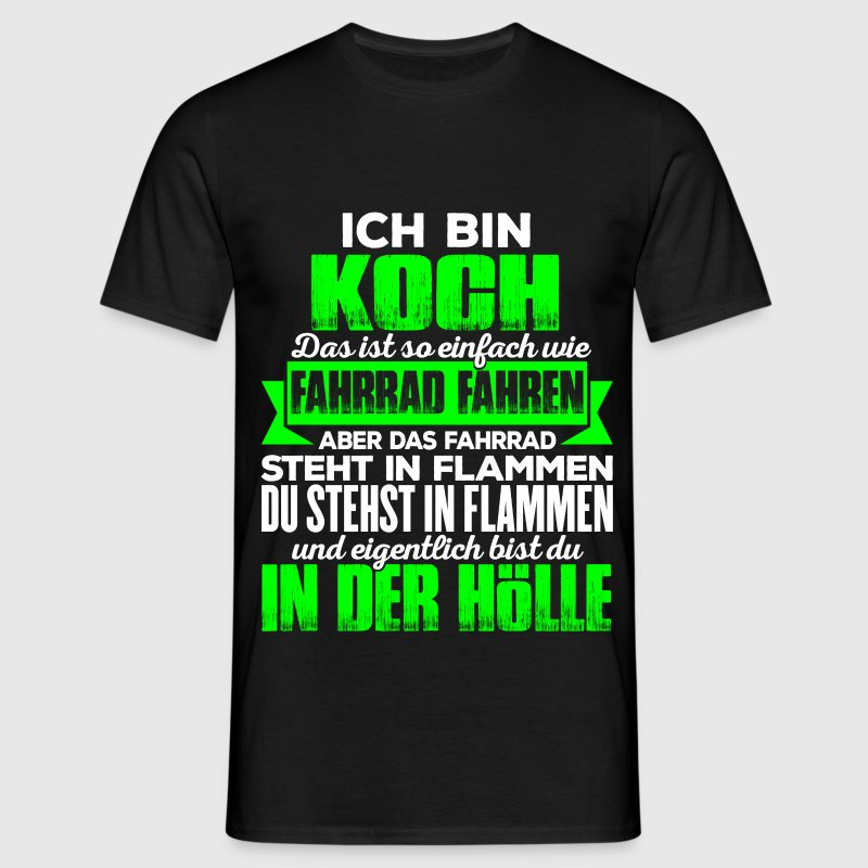 koch h lle t shirt spreadshirt. Black Bedroom Furniture Sets. Home Design Ideas