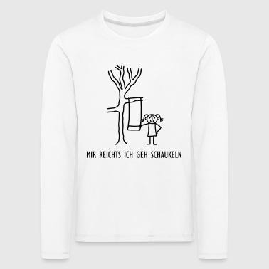 suchbegriff 39 schaukeln 39 langarmshirts online bestellen spreadshirt. Black Bedroom Furniture Sets. Home Design Ideas