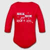Milk,Mom, Rock'n'Roll Baby Bodys - Baby Bio-Langarm-Body