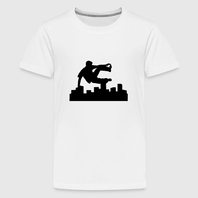 Freerunning, free running, free runner Shirts - Teenager Premium T-shirt