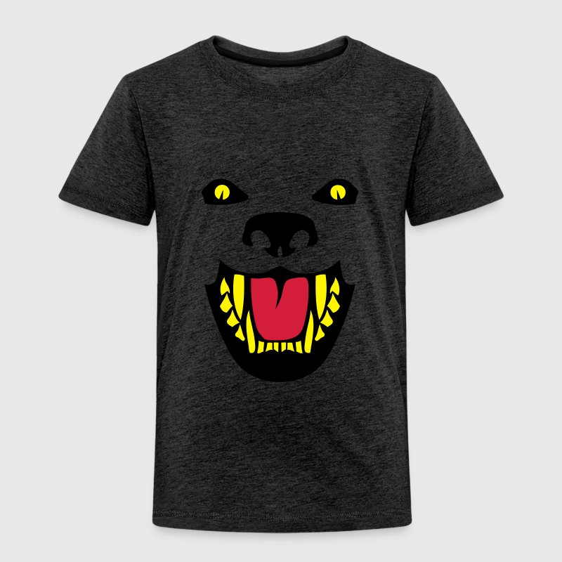 Fierce dog open mouth 112 Shirts - Kids' Premium T-Shirt