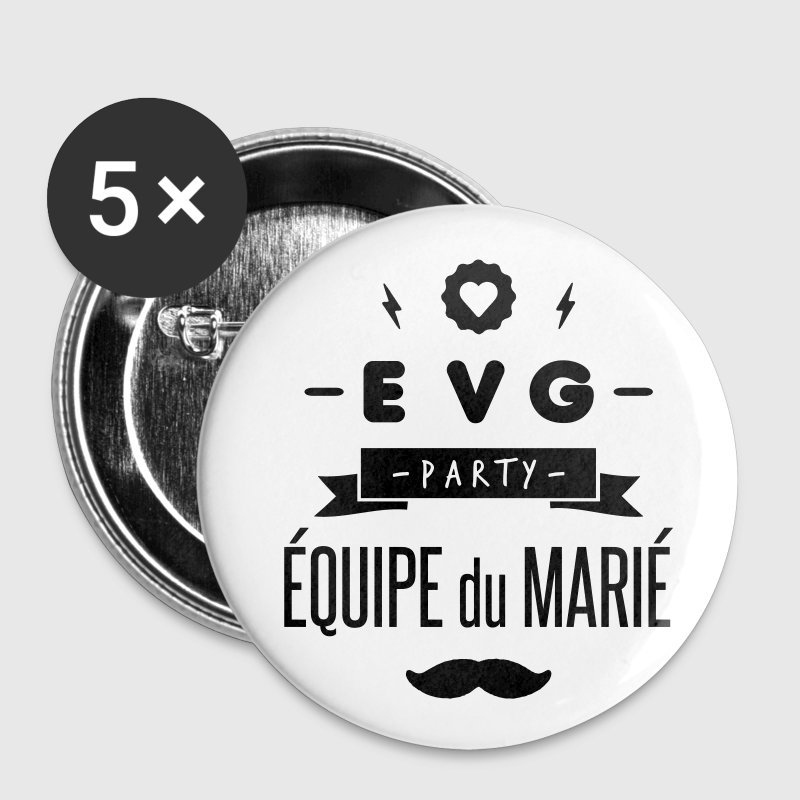 EVG party Badges - Badge petit 25 mm