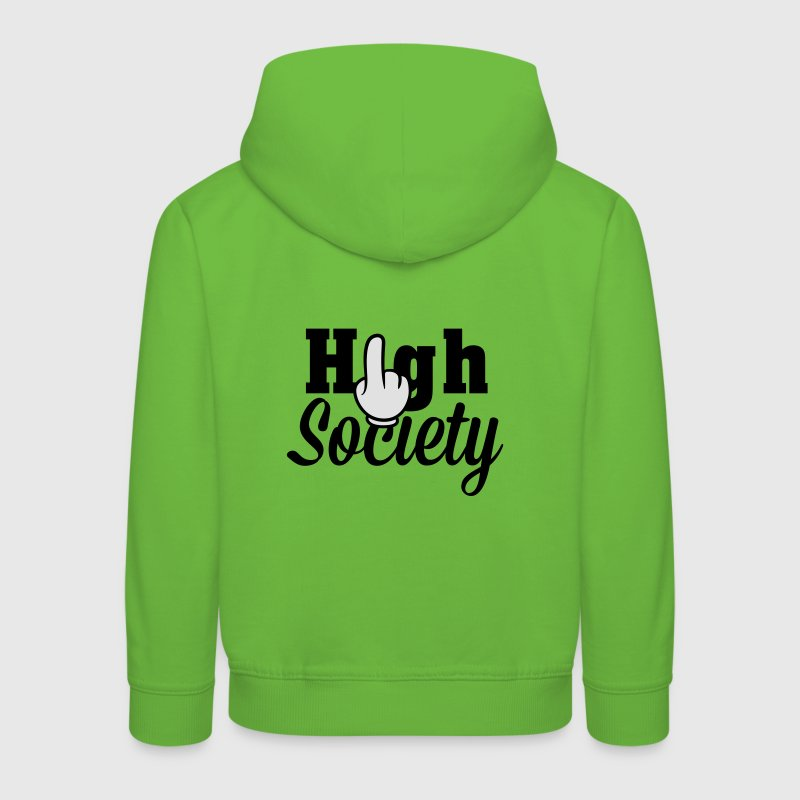 Achtung High Society Pullover & Hoodies - Kinder Premium Hoodie