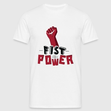 Fist The Power Vêtements de sport - T-shirt Homme