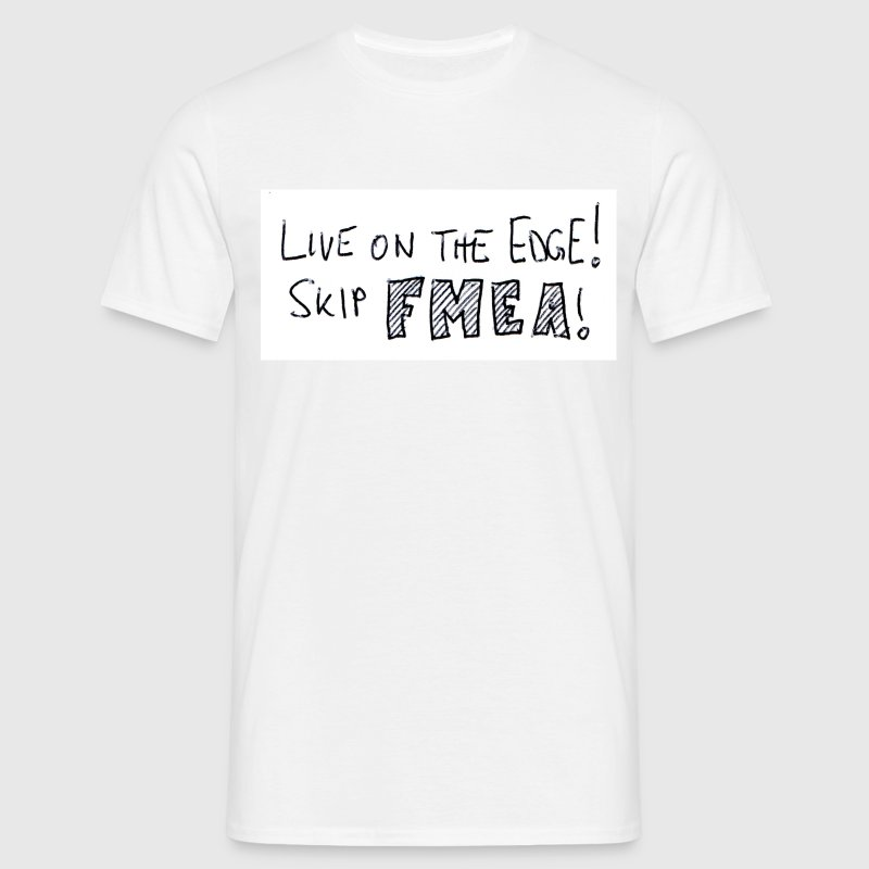 White Skip FMEA! Men's Tees - Men's T-Shirt