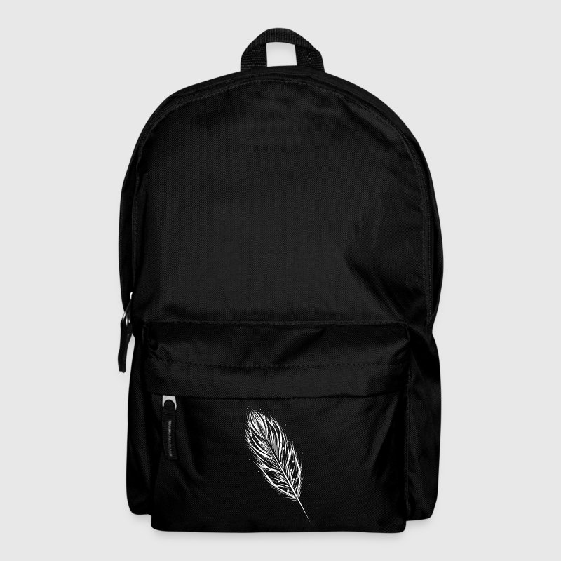 White feather Bags & Backpacks - Backpack