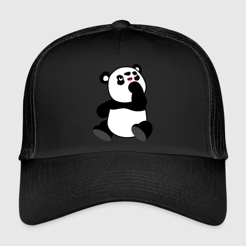 panda baseball cap philippines giants hat cute curious cartoon cheerful madness caps hats trucker kung fu