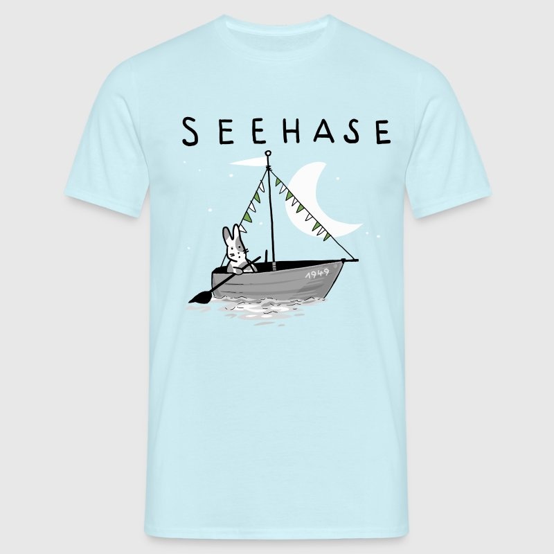 Seehase Bodensee.png T-Shirts - Männer T-Shirt