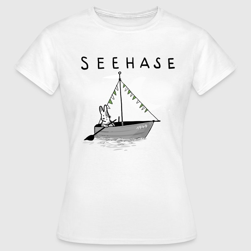 Seehase Bodensee.png T-Shirts - Frauen T-Shirt