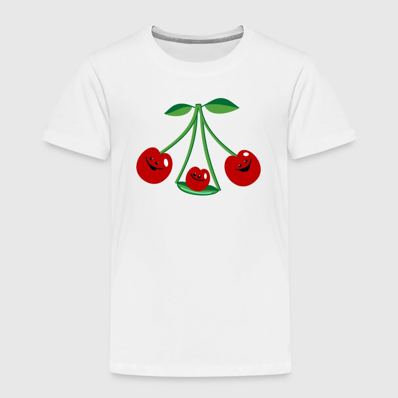 Three cherries Shirts - Kids' Premium T-Shirt