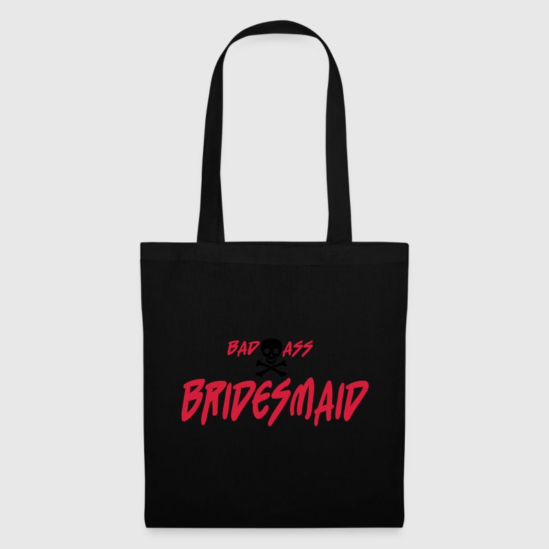 Black Bad Ass Bridesmaid Bags  - Tote Bag