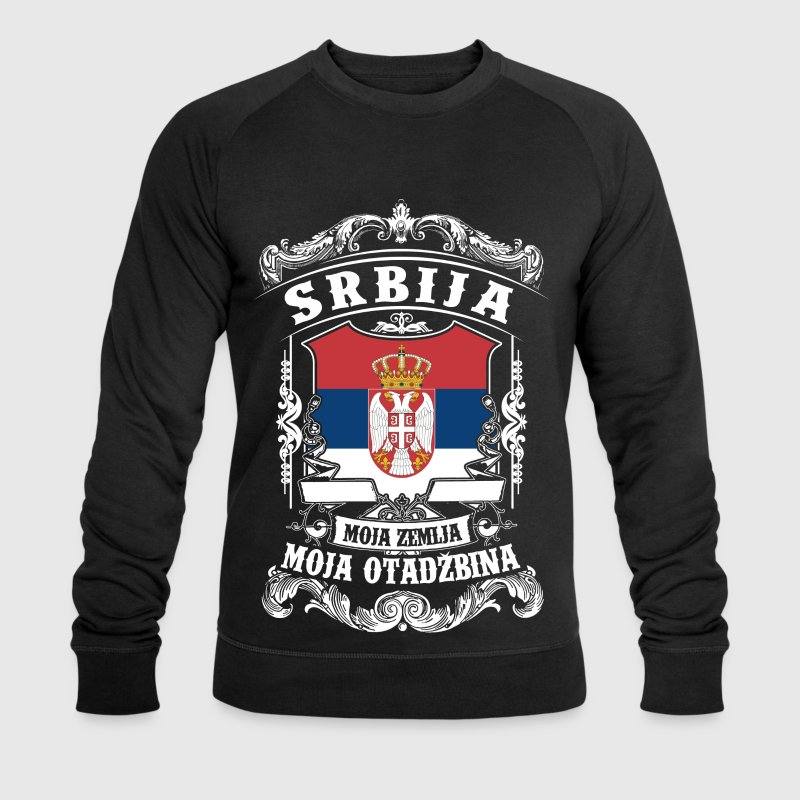 Srbija - Serbie - Serbie Sweat-shirts - Sweat-shirt bio Stanley & Stella Homme