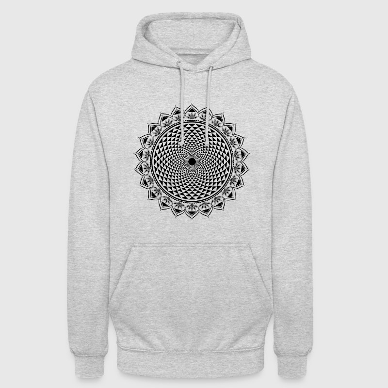 Lotus Chakra, Yoga, bouddhisme, méditation, om Sweat-shirts - Sweat-shirt à capuche unisexe