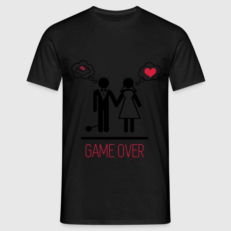 Game over ,Paare,  - Männer T-Shirt