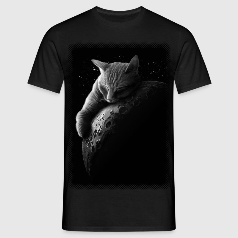 MOONCAT - Men's T-Shirt