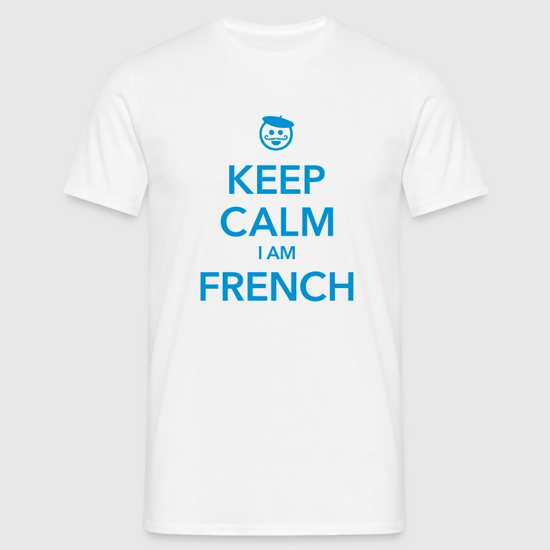 KEEP CALM I AM FRENCH - T-shirt Homme