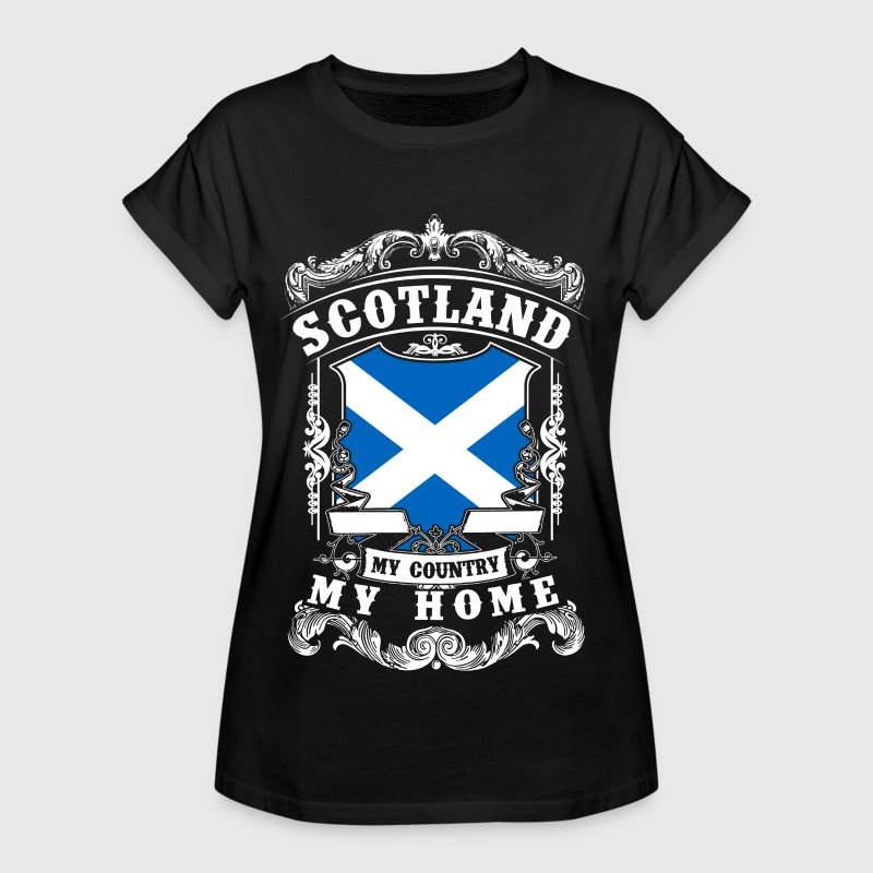 Scotland - My country - My home Tee shirts - T-shirt oversize Femme