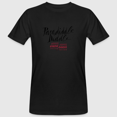 paradiddle diddle... - Männer Bio-T-Shirt