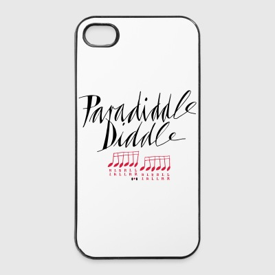 paradiddle diddle... - iPhone 4/4s Hard Case