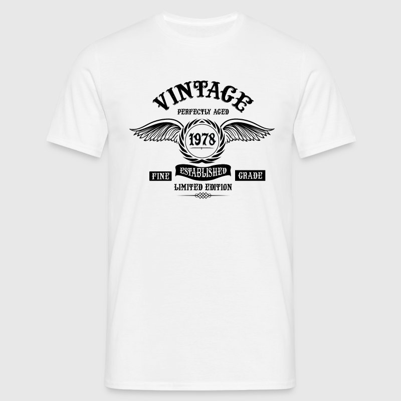 Vintage Perfectly Aged 1978 T-Shirts - Men's T-Shirt