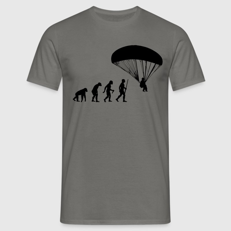 Paragliding Evolution - Männer T-Shirt