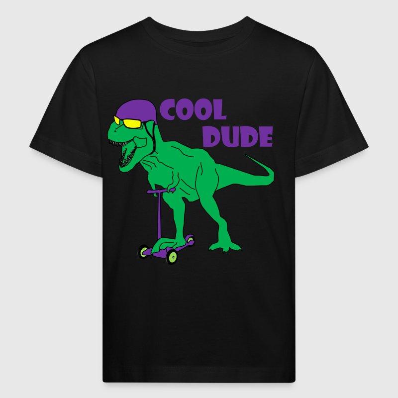 dinosaur t-rex cool dude T-Shirt   Spreadshirt