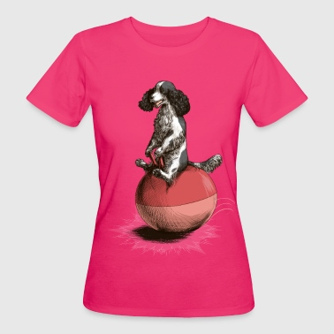 Cocker Spaniel Spacehop T-Shirts - Women's Organic T-shirt