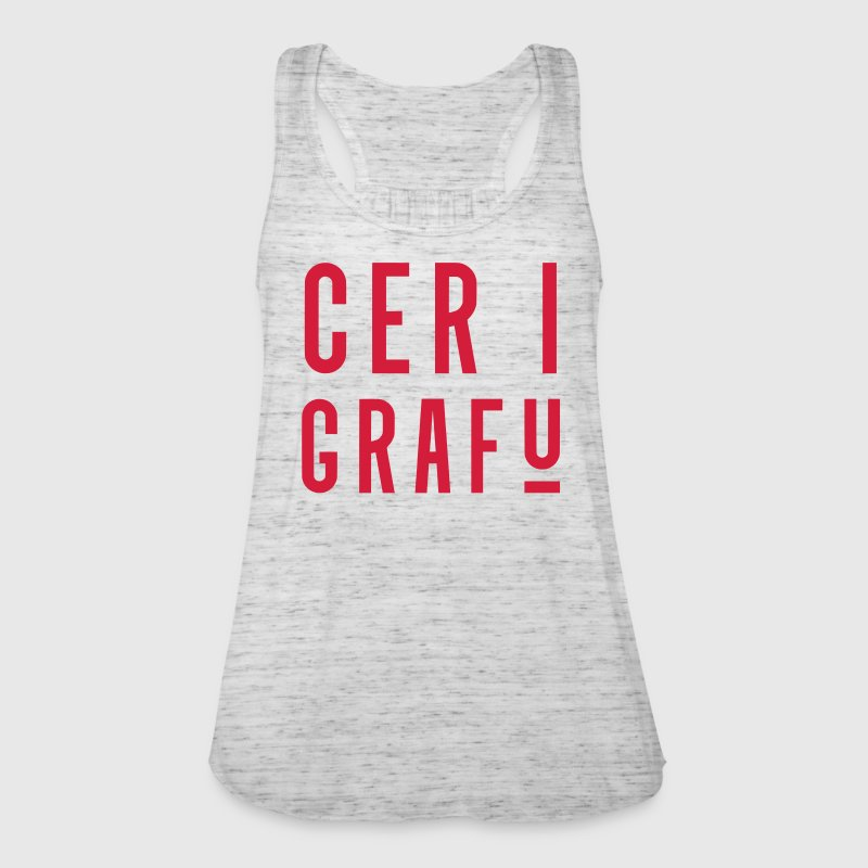 Cer I Grafu, Welsh Phrase Tops - Women's Tank Top by Bella
