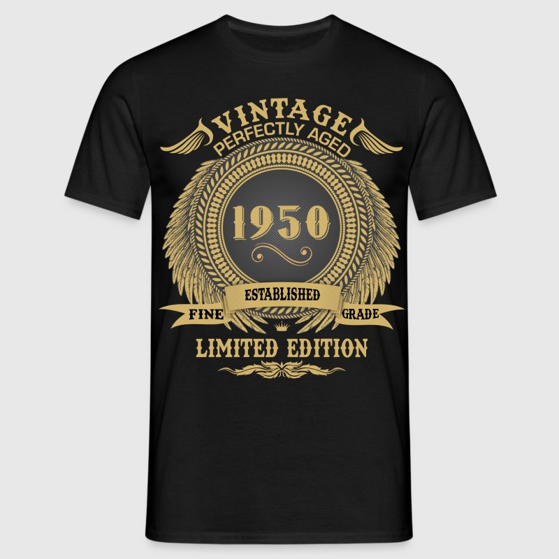Vintage Perfectly Aged 1950 Limited Edition T-Shirts - Men's T-Shirt