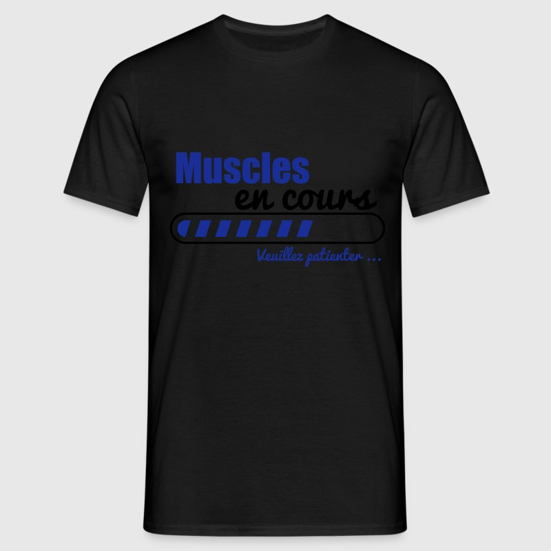 t shirt muscles en cours musculation muscu spreadshirt. Black Bedroom Furniture Sets. Home Design Ideas