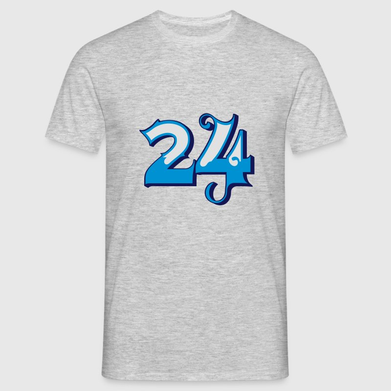 Fun Numbers 24 - 3C colorchange T-Shirts - Männer T-Shirt