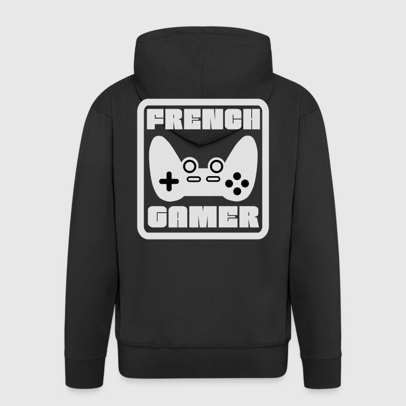 French Gamer 2 Sweat-shirts - Veste à capuche Premium Homme