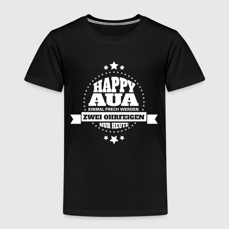 HAPPY AUA  T-Shirts - Kinder Premium T-Shirt