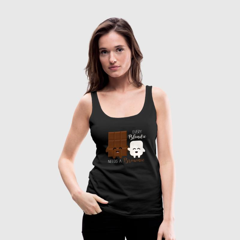 Blondie - Brownie Tops - Frauen Premium Tank Top
