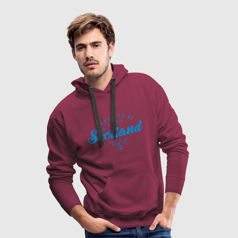 A CHILD OF SCOTLAND Hoodies & Sweatshirts - Men's Premium Hoodie