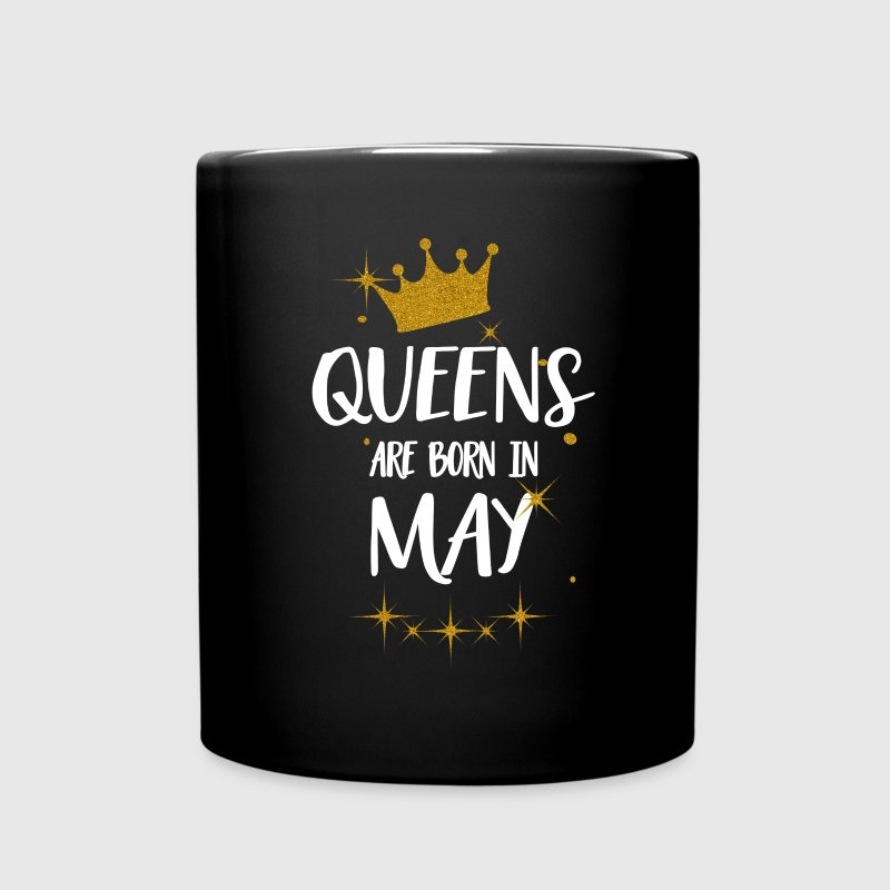 QUEENS ARE BORN IN MAY Tassen & Zubehör - Tasse einfarbig