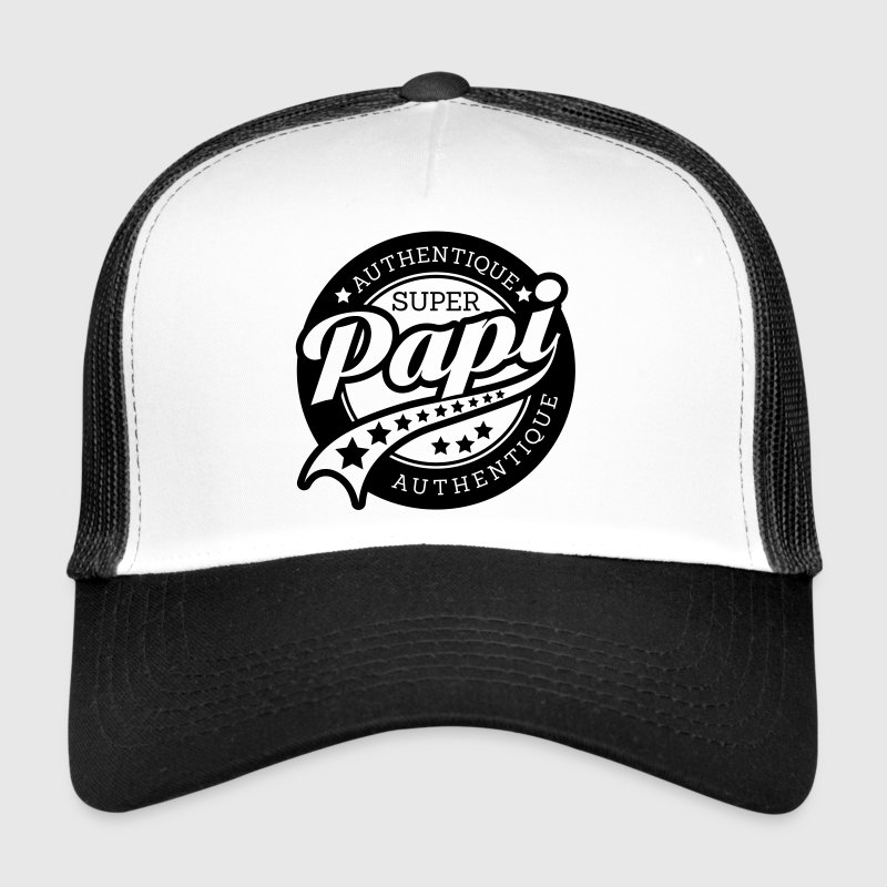 authentique super papi Casquettes et bonnets - Trucker Cap